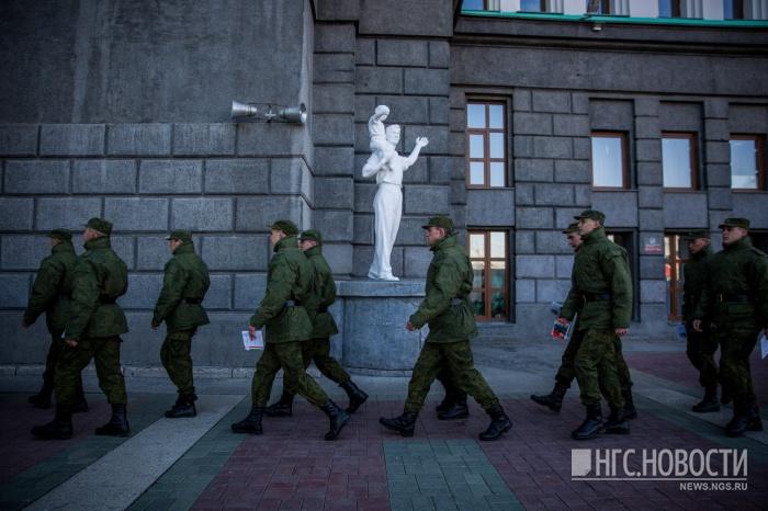 На смену вернувшимся солдатам отправятся новые призывники