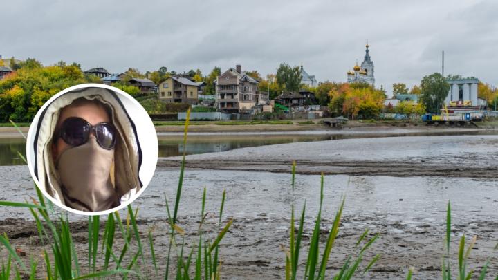 Пермский Чистомэн просит помощи у губернатора в очистке Мотовилихинского пруда