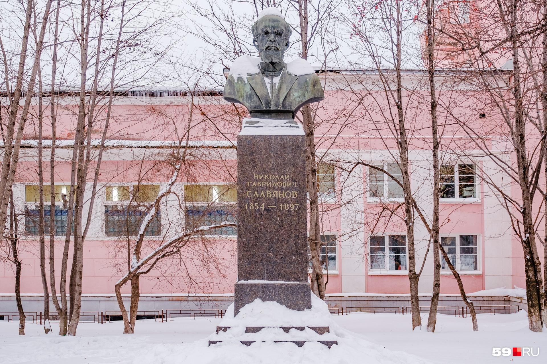 «Плачущий» памятник Славянову