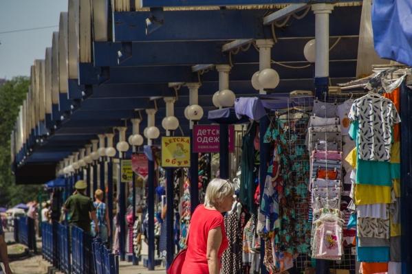Опасное белье продавали на ростовских рынках и в магазинах