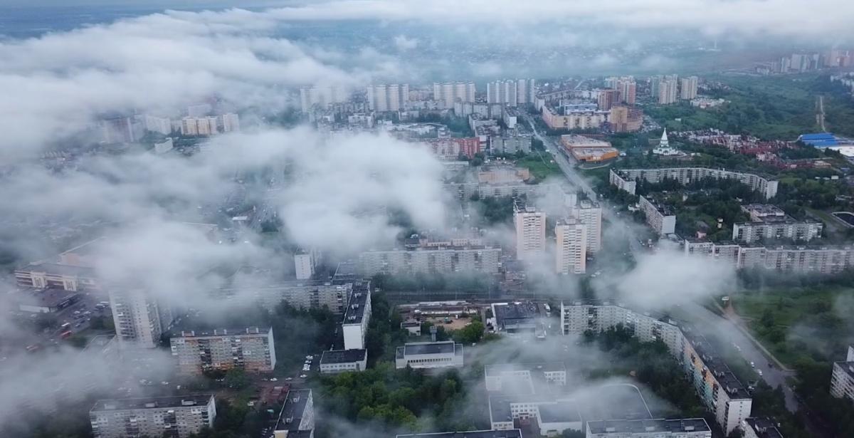 Автор предположил, что именно так выглядел бы город, если бы на него решили напасть белые ходоки из «Игры престолов»