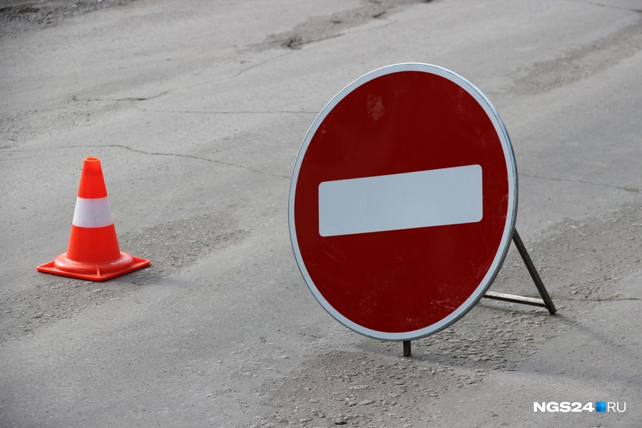 ГИБДД оштрафовало подрядчика возведения развязки Четвертого моста вКрасноярске