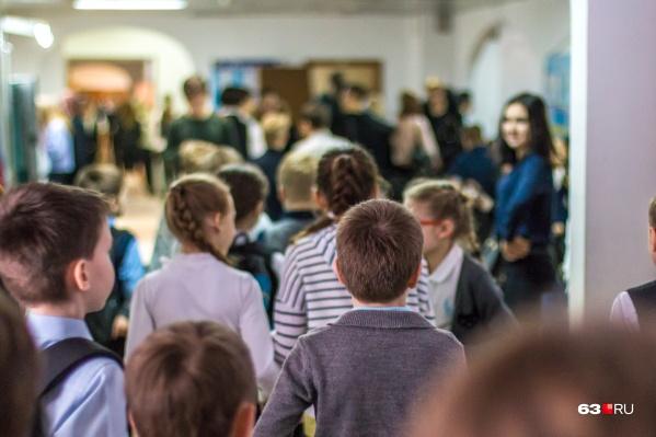 После уроков в пятницу школьники отправились на внеплановые недельные выходные