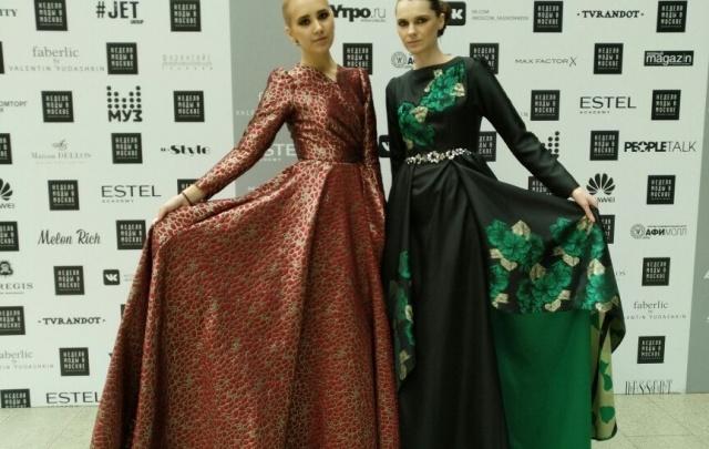 Башкирские красавицы выступили на неделе Моды в Москве