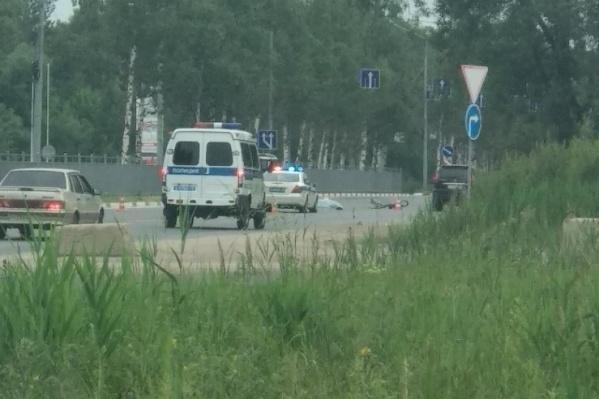 Оба велосипедиста скончались на месте ДТП