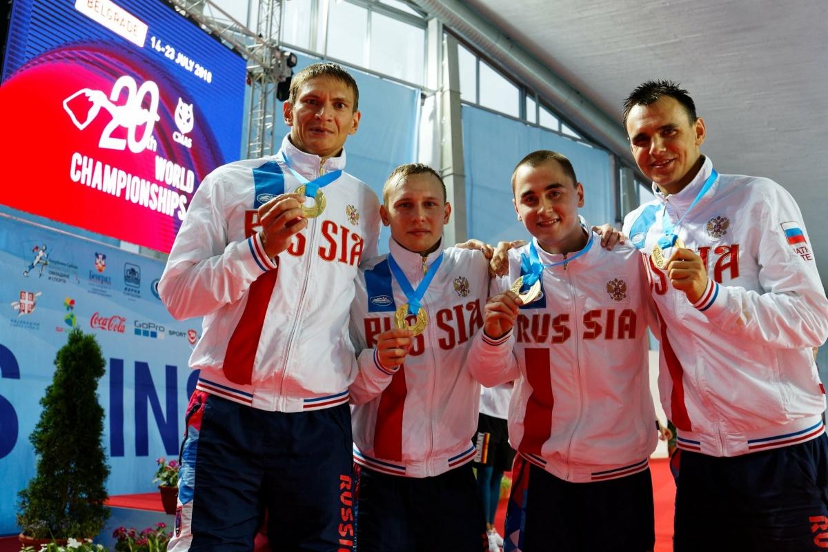 Вячеслав Носков взял награды высшей пробы в составе сборной в двух эстафетах