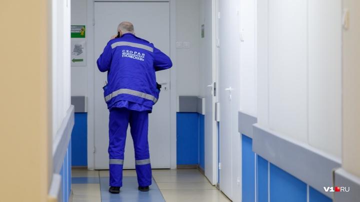 В Волгограде леди на BMW подбила иномарку и сбила пешехода