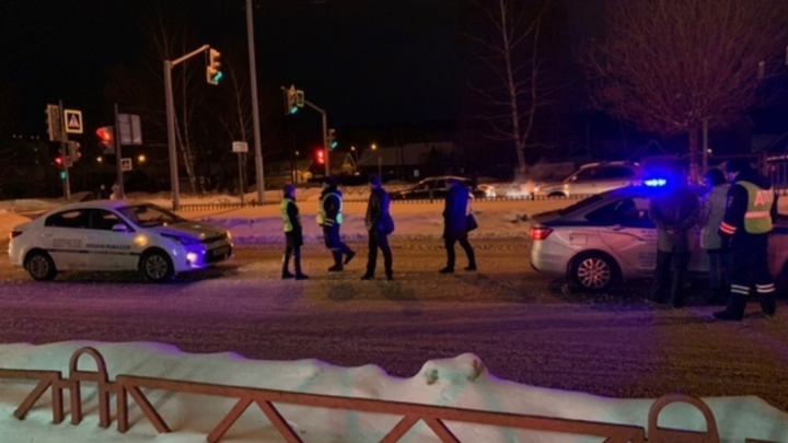 Ребёнок бежал под машину: появилось ещё одно видео, как на проспекте Фрунзе сбили 10-летнюю девочку