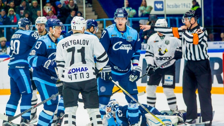 «Трактор» завершил регулярный чемпионат КХЛ победой над «Сибирью»