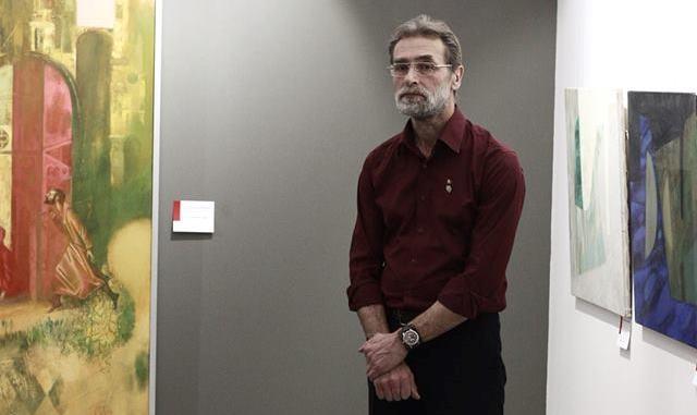 Достойный новосибирский художник открыл выставку в свой юбилей