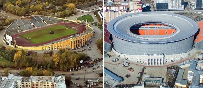 Так поменялся стадион за последние годы