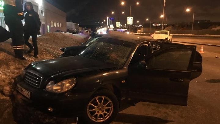 Стали известны подробности массового ДТП на Московском шоссес тремя автомобилями