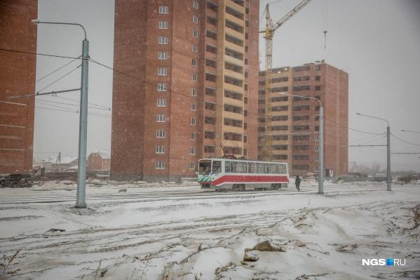 Новые трамвайные пути будут строить в первую очередь в новые микрорайоны, где напряжённо с общественным транспортом