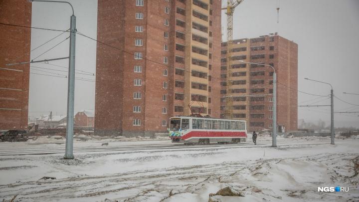Возвращение трамвая: линию на проспекте Дзержинского до «Берёзовой рощи» включили в генплан Новосибирска