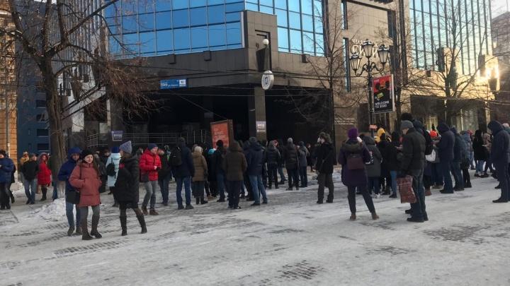 Из самого высокого бизнес-центра Челябинска эвакуировали людей