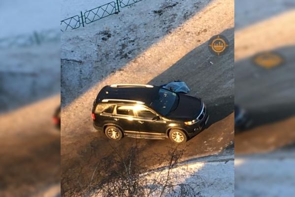 На автомобиле погибшего заметили наклейку «Инвалид»