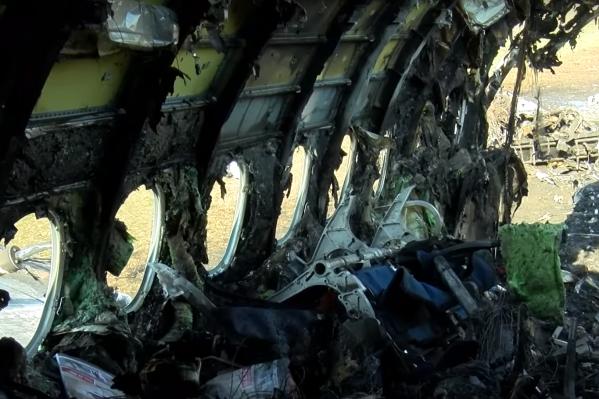 У самолета «Аэрофлота» припосадке загорелся фюзеляж