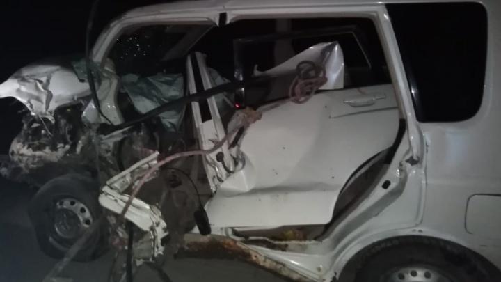На Урале из-за пьяного водителя в аварии пострадали шесть человек, среди них трое детей