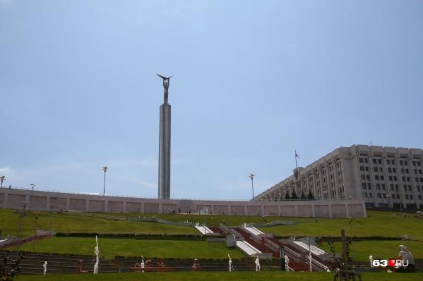 А вам нравится, как сегодня выглядит монумент «Честь, гордость и слава Самарской области»?