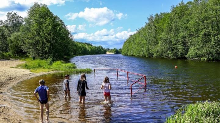 Вода в трех озерах Нижнего Новгорода не подходит для купания