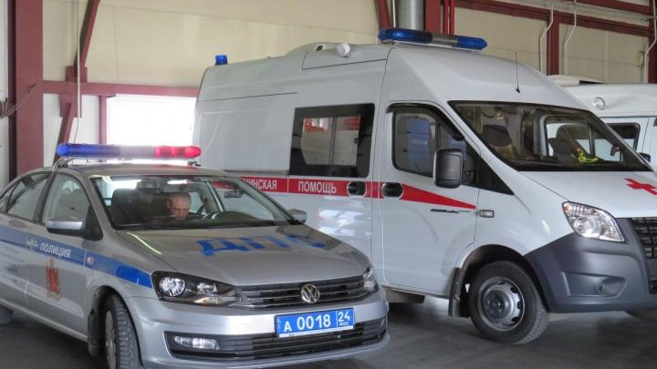 ГИБДД провела эксперимент и выяснила, как в Красноярске водители пропускают машину скорой помощи
