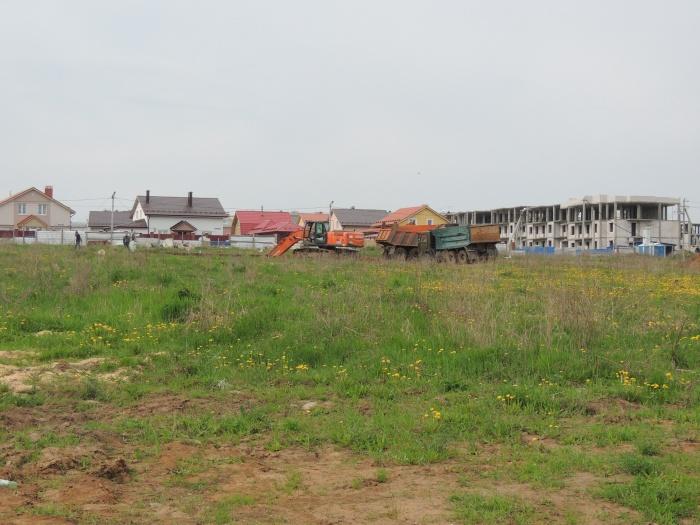 """В """"Окском береге"""" начали строительство детского сада"""