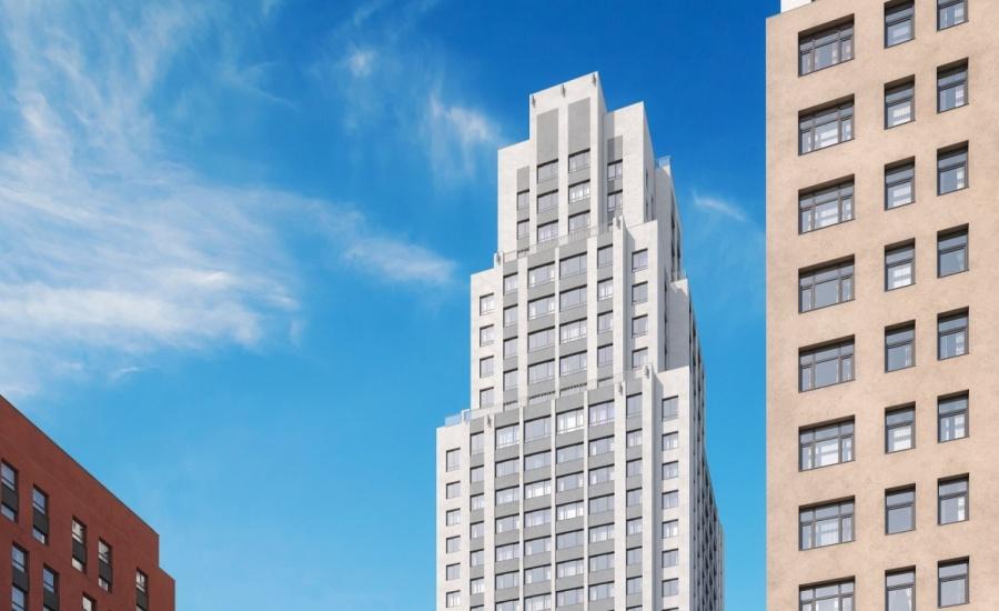 Башня будет выглядеть как американский небоскреб