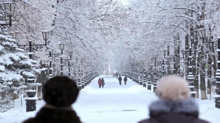 Зимняя сказка: в Уфу пришло самое волшебное время года