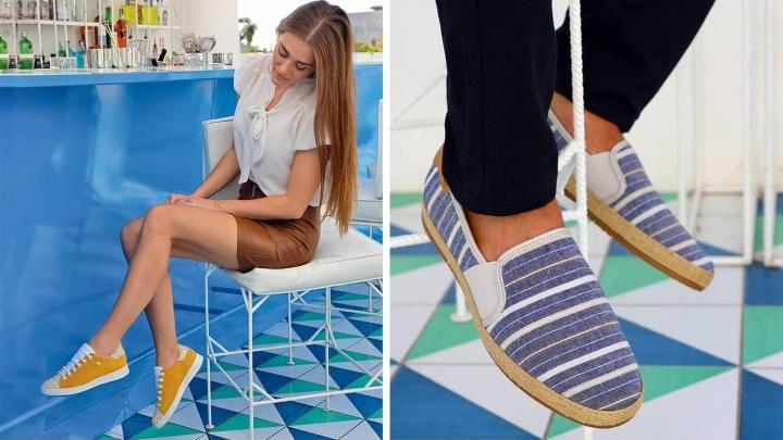 Путешествие во времени: GEOX представил новую летнюю коллекцию обуви