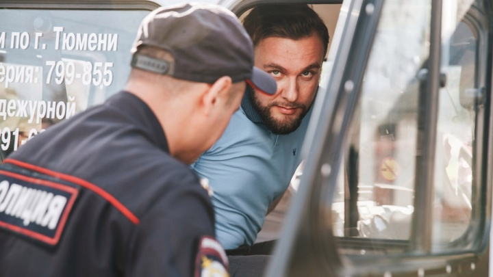 Тюменца оштрафовали на 290 тысяч за митинг против пенсионной реформы. Он ожидал ареста