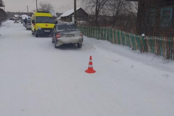 Трагедия случилась утром в деревне Шашова
