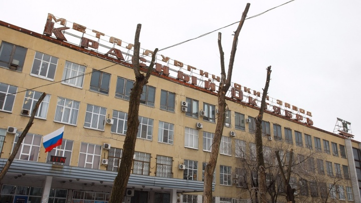 Вспыхнула крыша: на волгоградском заводе «Красный Октябрь» произошел пожар
