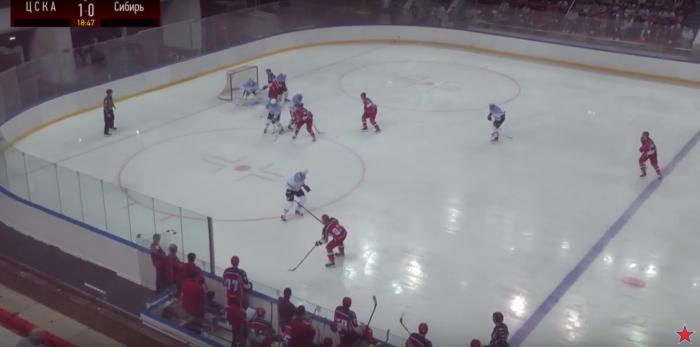 Контрольный матч сложился неудачно для новосибирской команды