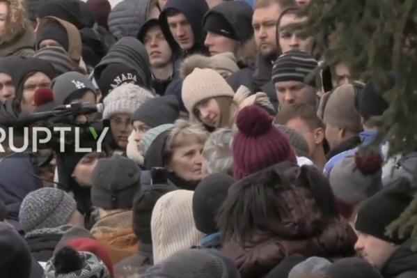 Жители Кемерова призывают власть к ответу