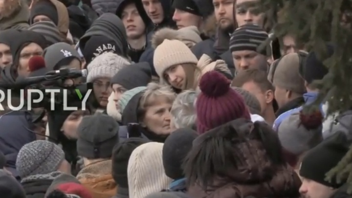 Митинг в Кемерово: родители погибших детей просят Путина ответить на их вопросы