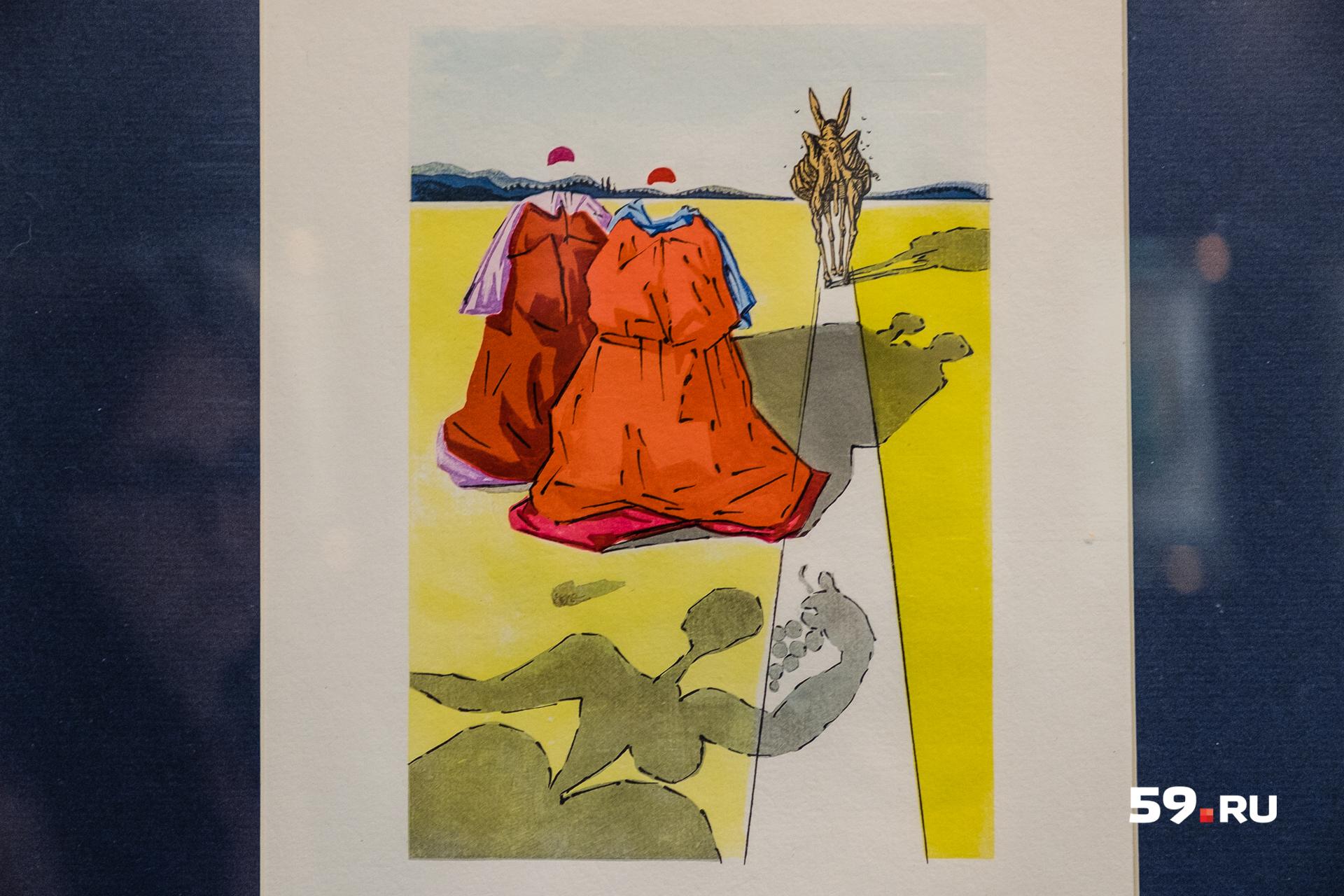 Иллюстрация к повести Педро де Аларкона «Треуголка»