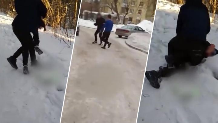 «Ударили по лицу, обворовали»: в Калининском районе появилась ещё одна жертва группы подростков