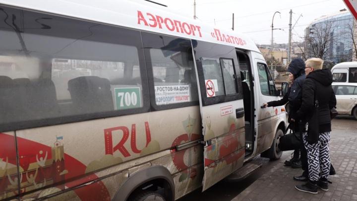 Вместо больших автобусов пассажиров в Платов по-прежнему возят маршрутки и ПАЗы