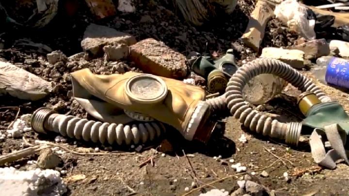 Тюменцы задыхаются от запаха гари со старого тлеющего полигона в Посохова