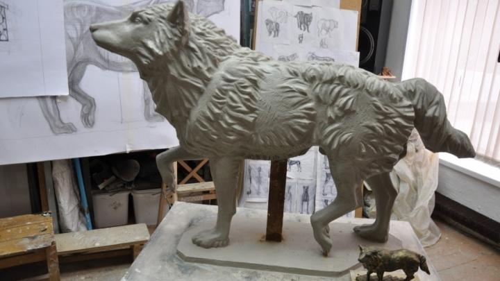 Уральская мастерская отольёт памятник псу, который два года ждал своего погибшего хозяина