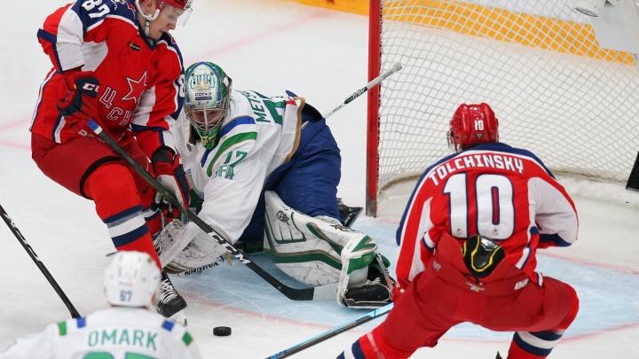 Разгром чемпиона: «Салават Юлаев» обыграл действующего обладателя Кубка Гагарина