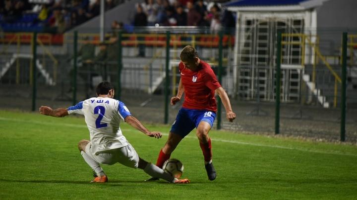 Третье поражение подряд: ростовский ФК СКА проиграл «Интеру»