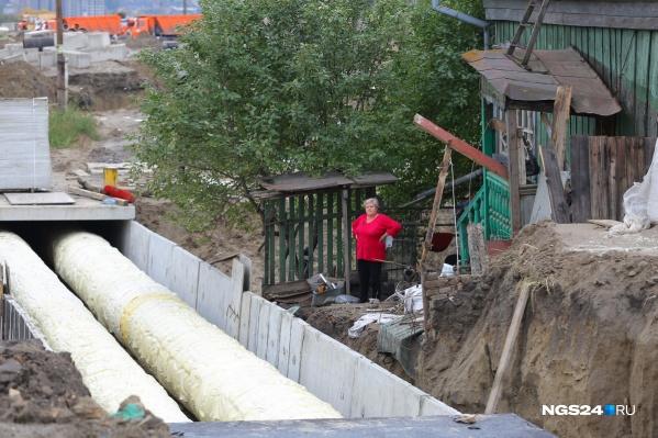Завершилось строительство новой теплотрассы на Волочаевской