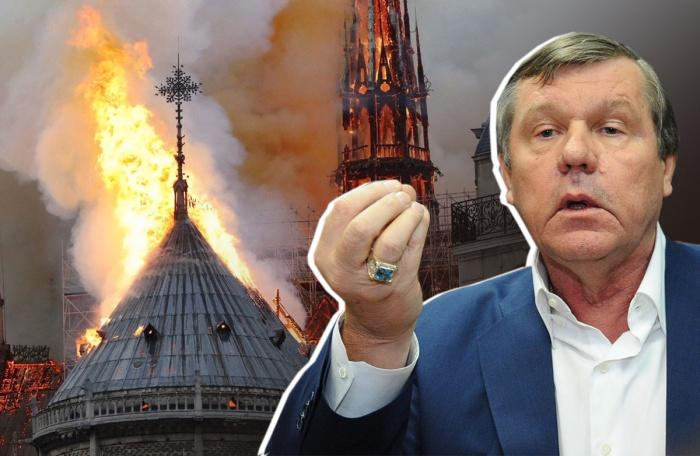 Александр Новиков уверен, что пожар в Париже — всполох пламени Содома и Гоморры