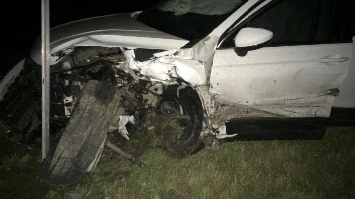 В ДТП на трассе Курган— Екатеринбург погиб житель Московской области. В аварии пострадал ребенок