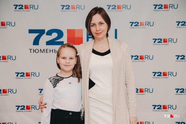 Аглае Беляковой девять лет. В год у неё обнаружили сахарный диабет первого типа