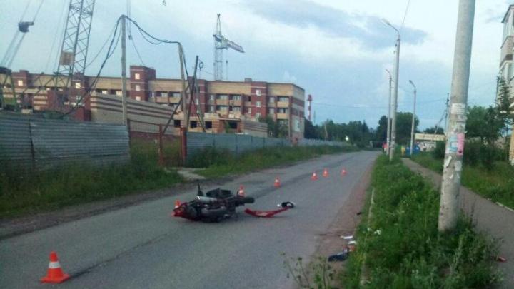 В Прикамье подростки получили травмы, врезавшись на скутере в ЛЭП