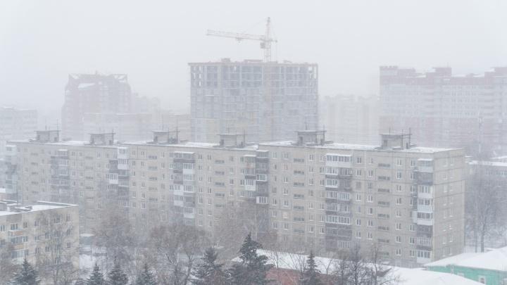 МЧС: в Прикамье ожидаются сильные снегопады и гололедица