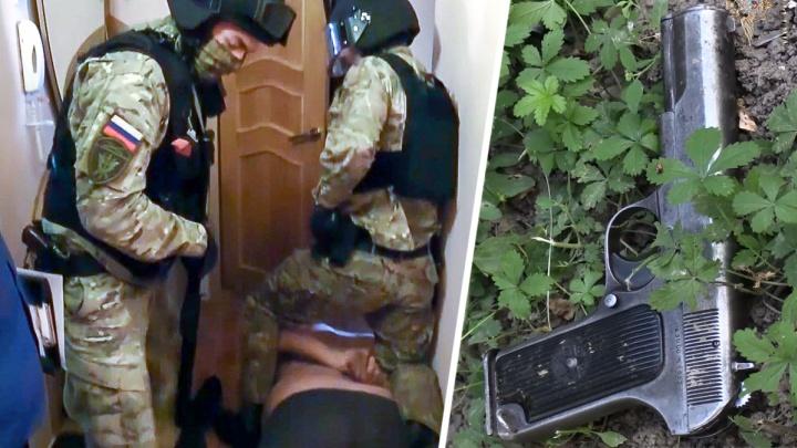 Ростовские полицейские задержали производителей огнестрельного оружия
