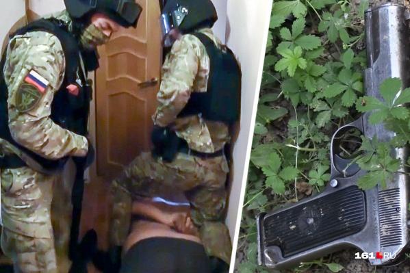 Подозреваемых задержали в Ростове